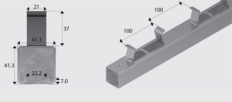 Concrete Insert Channel