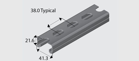 Slotted Ribbed Channel